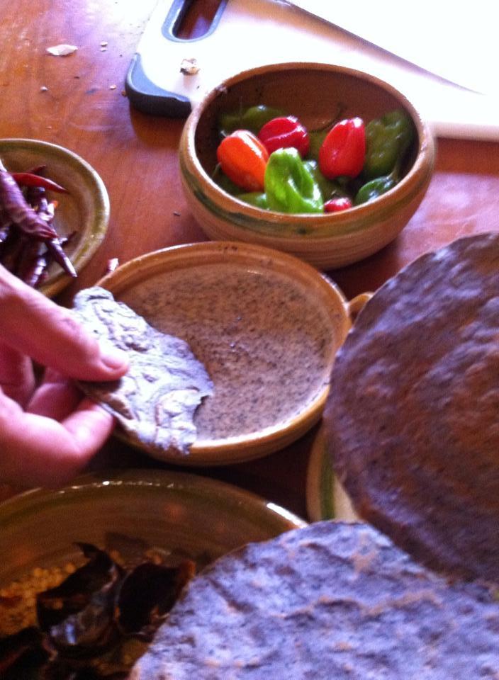 Salsa de Chicatanas with The Mexykan. Mexican cooking classes.
